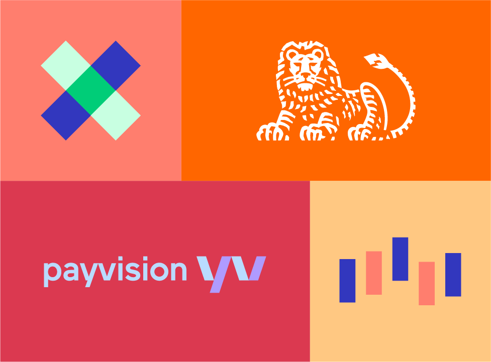 Logo Payvision ING collaboration